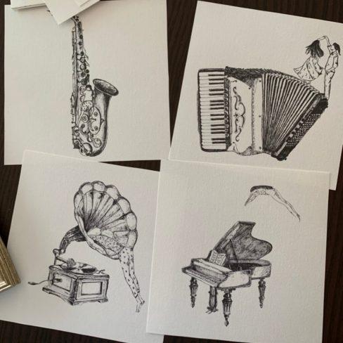 Ilustração Música
