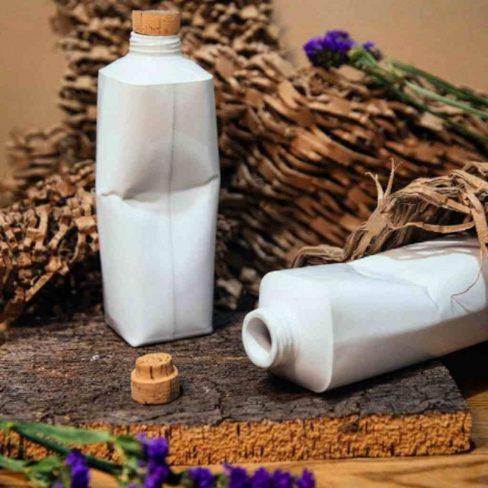 Pacote de leite em cerâmica
