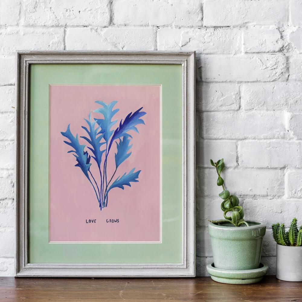 Ilustração : Love Grows