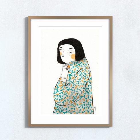 Ilustração . Art print de Mirjam Siim