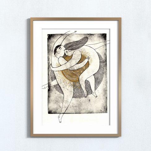 Ilustração Huxley . Art print Mirjam Siim