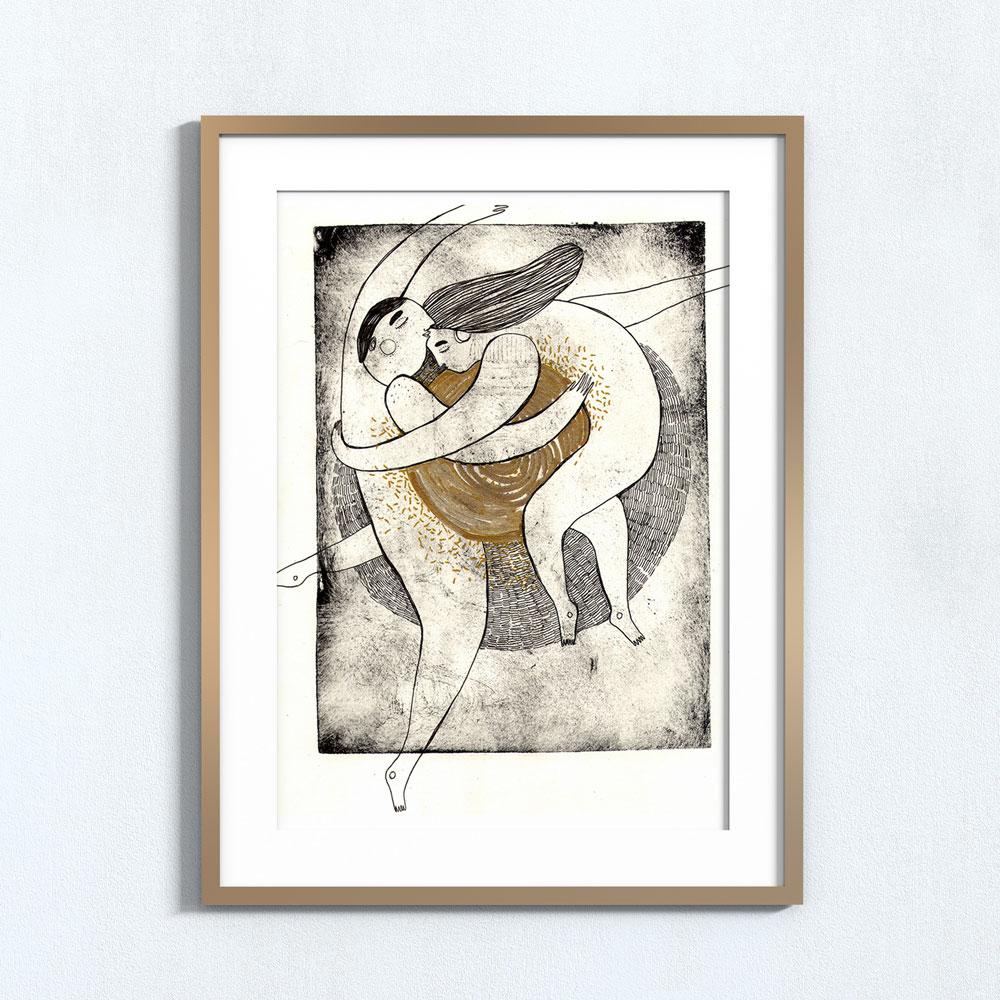 Ilustração Huxley . Art print