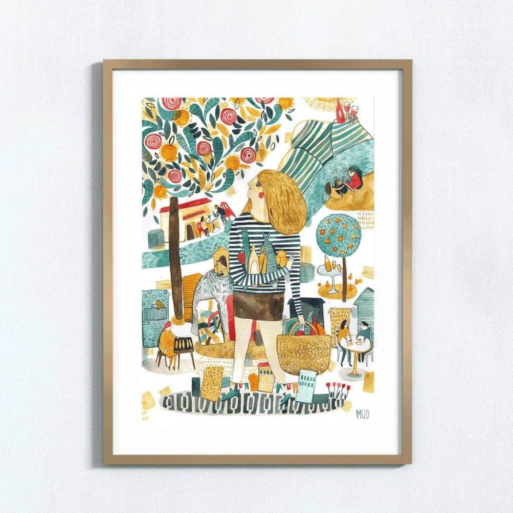 Desenho ORIGINAL 'Portugal'