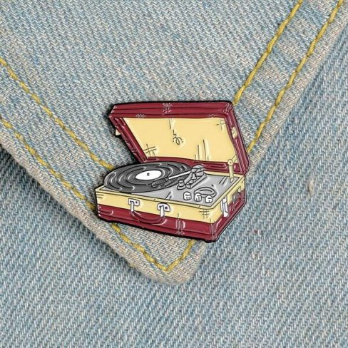 Pins Gira-discos