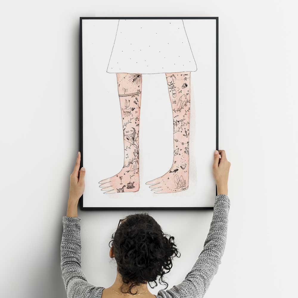 Ilustração Tatuagens