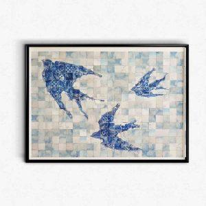 Andorinhas de Azulejo