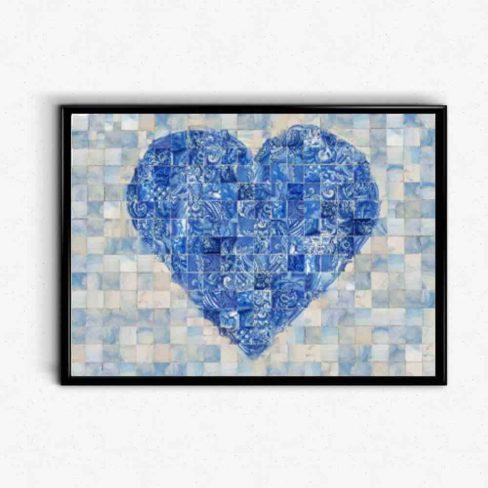 Coração de Azulejo