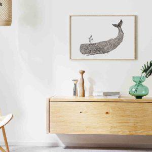 Ilustração Baleia