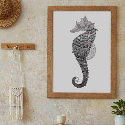 Ilustração Cavalo-Marinho
