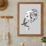Ilustração Elefante
