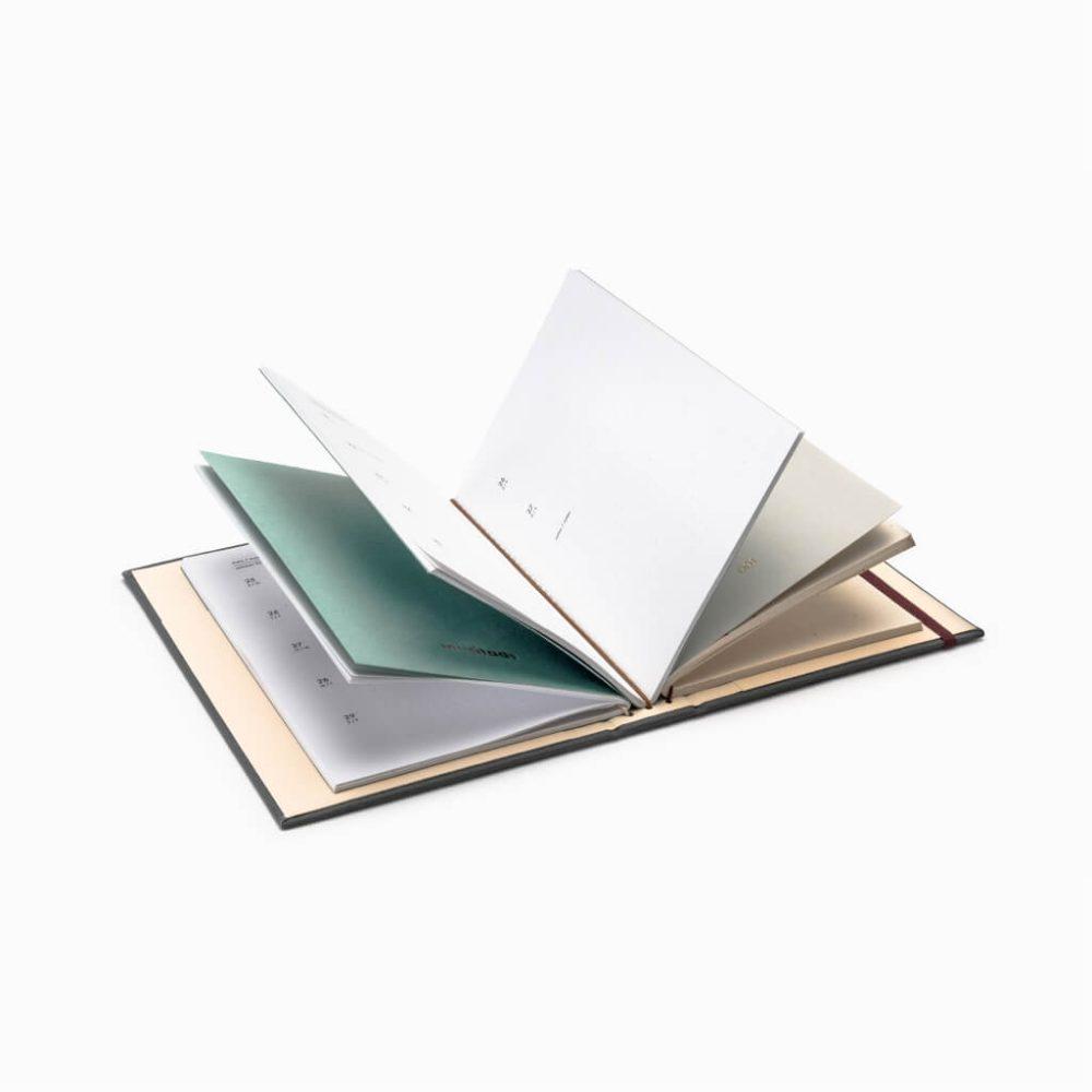 Agenda Noteboook 1/365 feito à mão