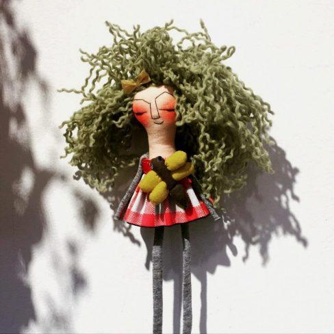 Maria Feijãi . Art Doll